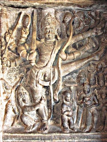 Vishnu trivikrama Vaman Avtar Cave 2