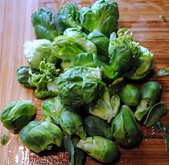 Brussels Sprouts Harvest