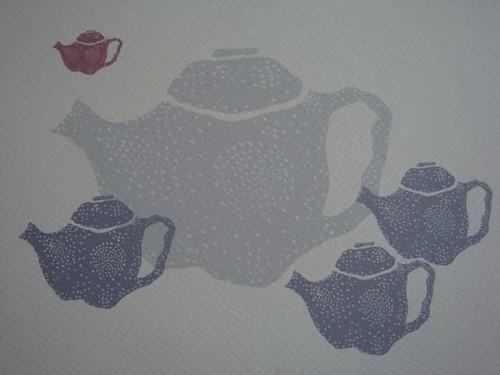 spotty teapot circle