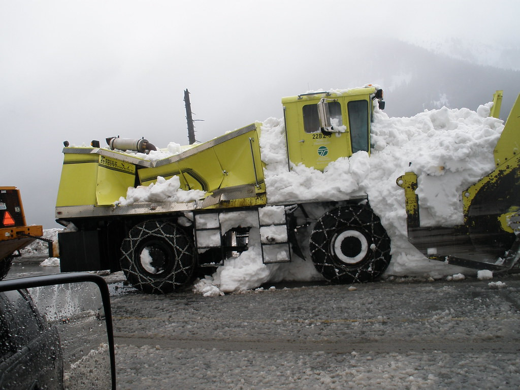 Snowblower crushed by avalanche