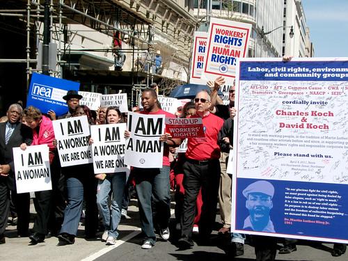 Larry Cohen Marching April 4