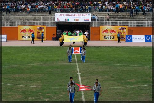 football - Nep vs DPRK