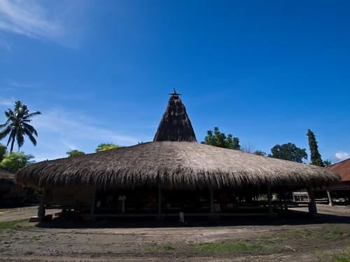 Sumbanese traditional house