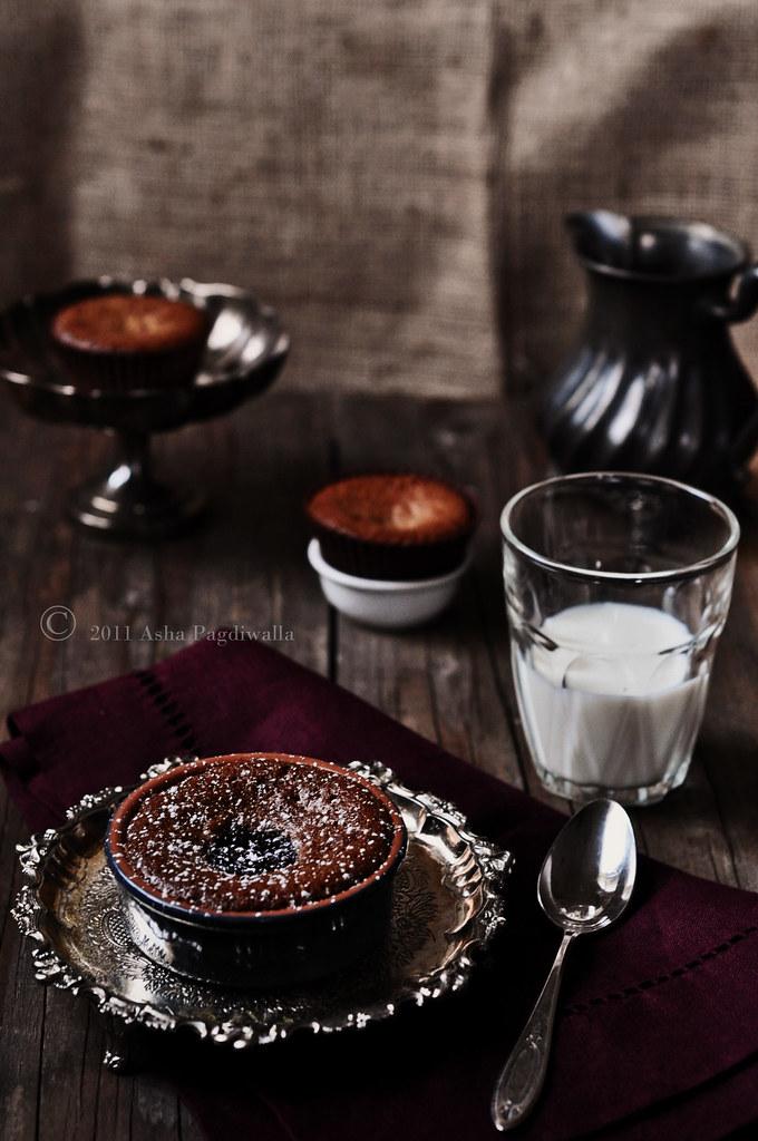 Gluten Free Brownie Pots