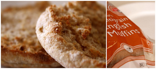 English Muffin Diptych