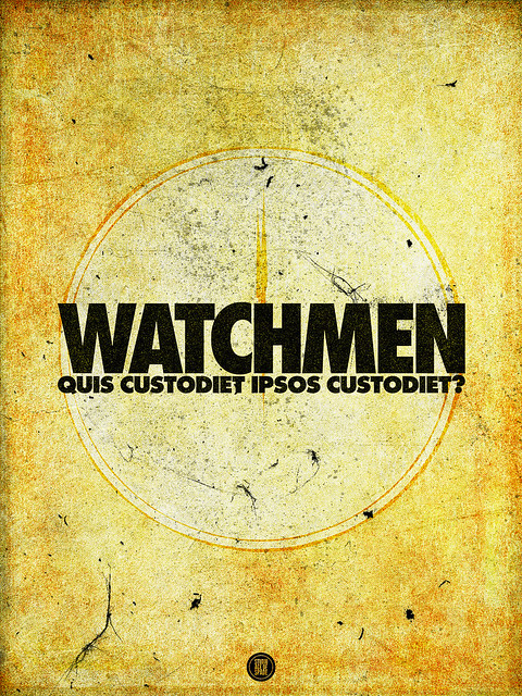 SAoS - Project 52.14 - Watchmen by Alan Moore and Dave Gibbons - Alt