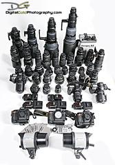 Nikon Collection (DiGitALGoLD) Tags: nikon equipment nikon85mm nikond2x nikonsb800 nikon105mm nikon50mm nikon300mm nikon200mm nikoncollection nikon16mmfisheye nikon2470mm nikon400mm nikond3 nikond300 nikon1424mm nikonsb900 nikon500mm nikon70200mmvrii