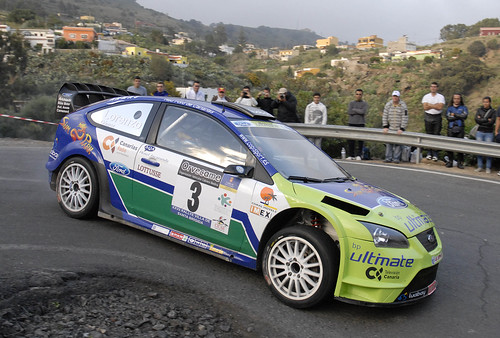 Lorenzo-Gómez Rallye Santa Brigida(Archivo)