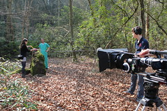 Aaron, Joanne and James (jodilei) Tags: film woods shoot surrey virginiawater royallandscape
