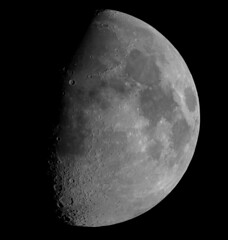 20090106 High Resolution Moon (JMelquist) Tags: moon composite high space telescope crater astrophotography astronomy res