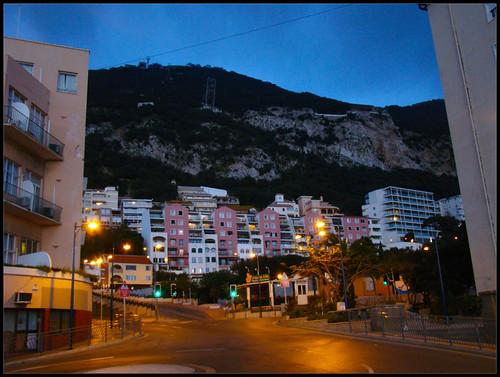 Noche en Gibraltar