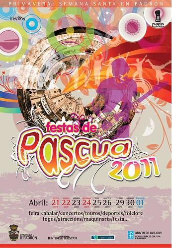 Padrón 2011 - Pascua - cartel