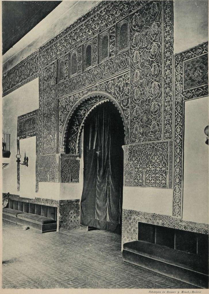 Casa de Mesa en 1897. Fotografía de Hauser y Menet