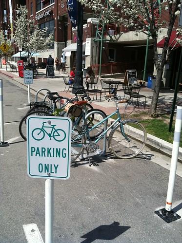 New bike corrals