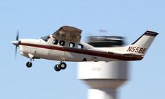 Phoenix PD Cessna P210R N55BE (ChrisK48) Tags: airplane aircraft 210 dvt phoenixaz cityofphoenix cessna210 kdvt phoenixpd phoenixdeervalleyairport cessnap210r n55be