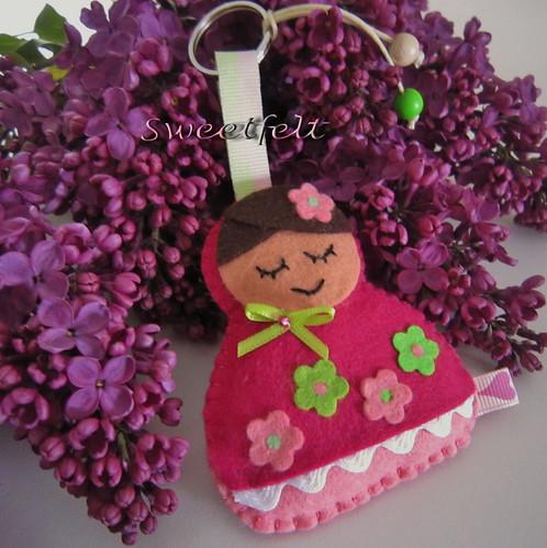 ♥♥♥  A menina e o lilás... by sweetfelt \ ideias em feltro