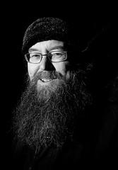 Esko Valtaoja (Lauri Hannus) Tags: portrait bw beard turku professor esko 2011 tylkkäri turunylioppilaslehti valtaoja