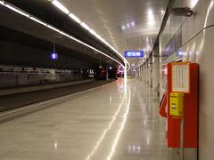 Flughafen Wien (magro_kr) Tags: vienna wien station austria österreich platform wiedeń railway sbahn osterreich öbb peron oesterreich kolej wieden oebb stacja