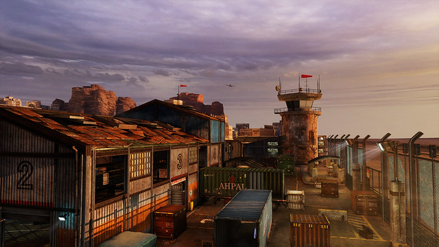 Uncharted 3: airport vista