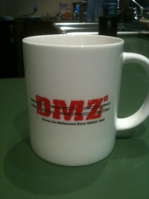 DMZ mug (front)