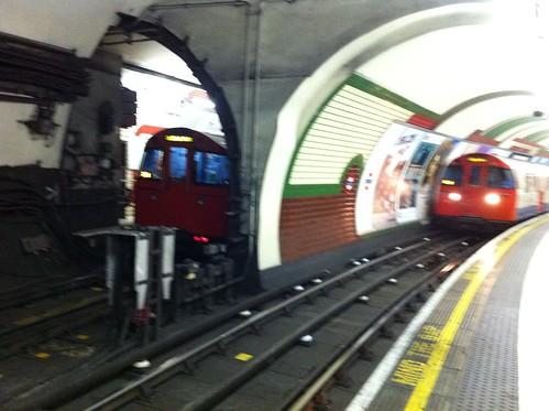 הרכבת התחתית בלונדון