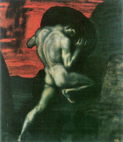 Sisyphus by Franz von Stuck