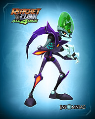 Design Character Costumes From Ratchet & Clank: All 4 One And See Them