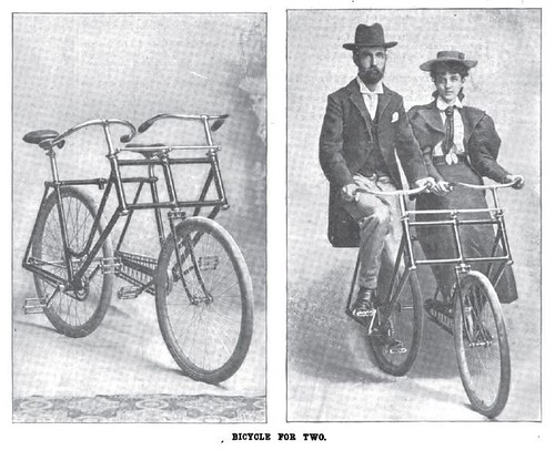 From Wheels to Bikes: Side-by-Side Tandem (1896)
