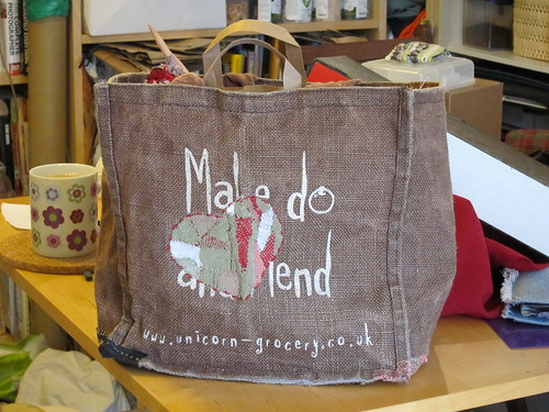 Make do and mended bag