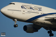 4X-ELB - 26056 - El Al Israel Airlines - Boeing 747-458 - 101205 - Heathrow - Steven Gray - IMG_5443