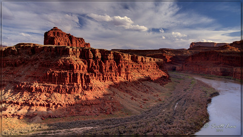 Shaffer Trail Over the Colorado by Just Used Pixels