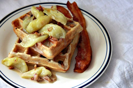 Spiced Waffles