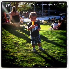 Turning 2 means Popsicles & Concerts at the park <3