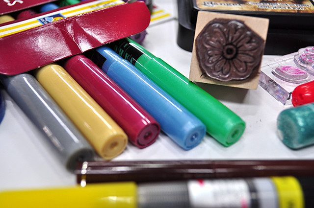 art supplies giveaway 2 by Traci Bunkers