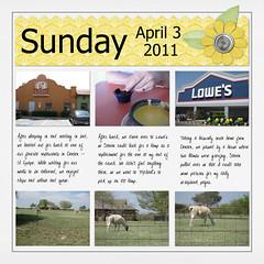 April 3, 2011 (flakyredhead) Tags: scrapbook load digiscrapping layoutaday