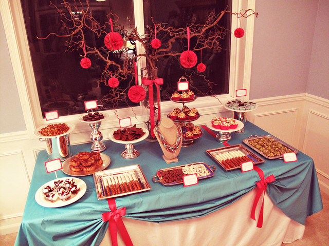 Stella & Dot Sweet n Salty Dessert Table #1