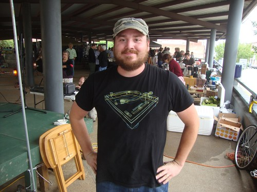 Nathan Woods, Texas Ave Maker's Fair, Spring 2011 by trudeau