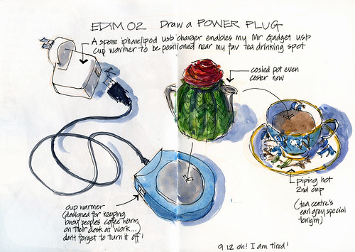 EDiM02 Draw a power plug