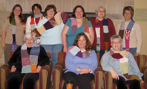 Scarf Project knitters