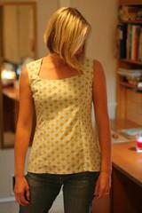 Amy Butler lotus shirt 2 (breakfastinkitchener) Tags: amy lotus butler