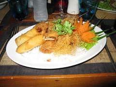 (sensesmaybenumbed) Tags: food thailand island hotel honeymoon shrimp prawns resort phuket rachayaiisland kohrachayai theracha