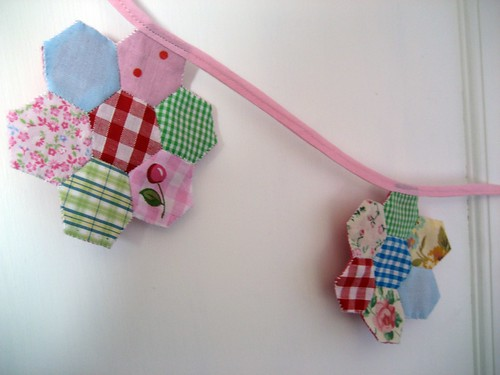 Flower Patchwork Garland by RubyRed06