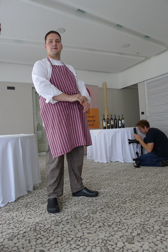 Chef Špiro Pavlić from restaurant Nautika in Dubrovnik