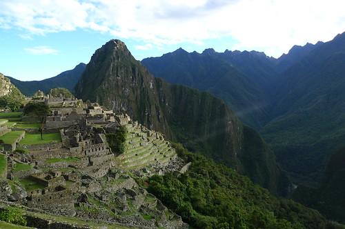 Sunrise - Machu Picchu - Peru