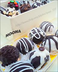 ترفلز الشوكلاه ~  (نو نــــــــا) Tags: flickr nona فلكر كرات حلى نونا الشوكلاته ترفلز الشوكلاه