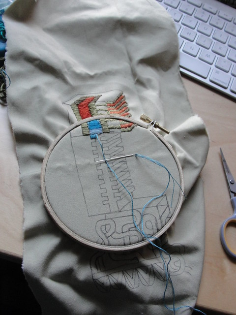 Embroidery pt 2