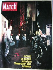 ALAN SHEPARD - FREEDOM 7 / COUVERTURE PARIS-MATCH