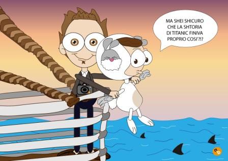 bunny e belve in Titanic by NorisBunny