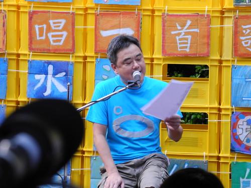 陳昇現場發表新歌《阮阿罵是媽祖魚》