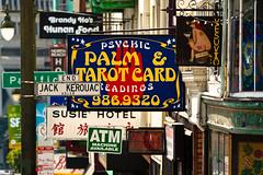 "Street and storefront signs on Columbus Avenue between Broadway Street and Pacific Avenue in San Francisco • <a style=""font-size:0.8em;"" href=""https://www.flickr.com/photos/54899285@N06/5728327187/"" target=""_blank"">View on Flickr</a>"